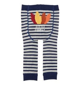 MUD PIE THANKSGIVING KNITTED LEGGINGS 0-6 M