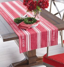 MUD PIE MOST WONDERFUL TABLE RUNNER