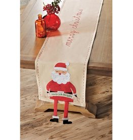 MUD PIE CHRISTMAS DANGLE LEG RUNNER