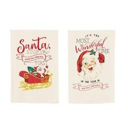 MUD PIE NORTH CAROLINA CHRISTMAS TOWELS