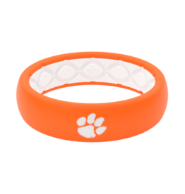 GROOVE LIFE thin college clemson silicone ring