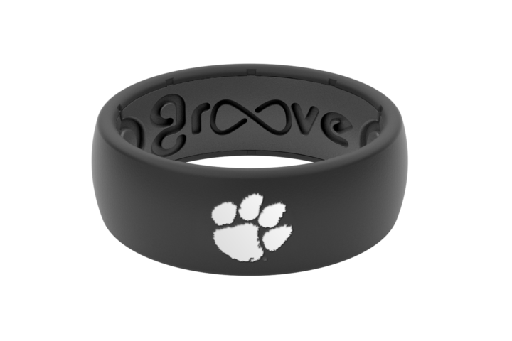 GROOVE LIFE original college clemson silicone ring