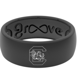 GROOVE LIFE original college south carolina silicone ring
