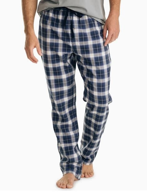 SOUTHERN TIDE plaid flannel lounge pant