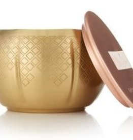 THYMES HEIRLUM PUMPKIN SMALL GOLD CANDLE