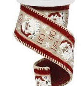vintage santa royal w/velvet ribbon