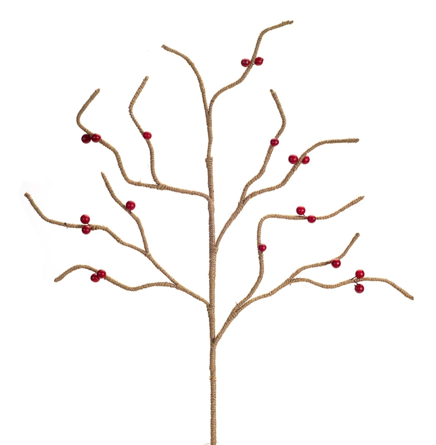 JUTE BRANCH W/BERRIES