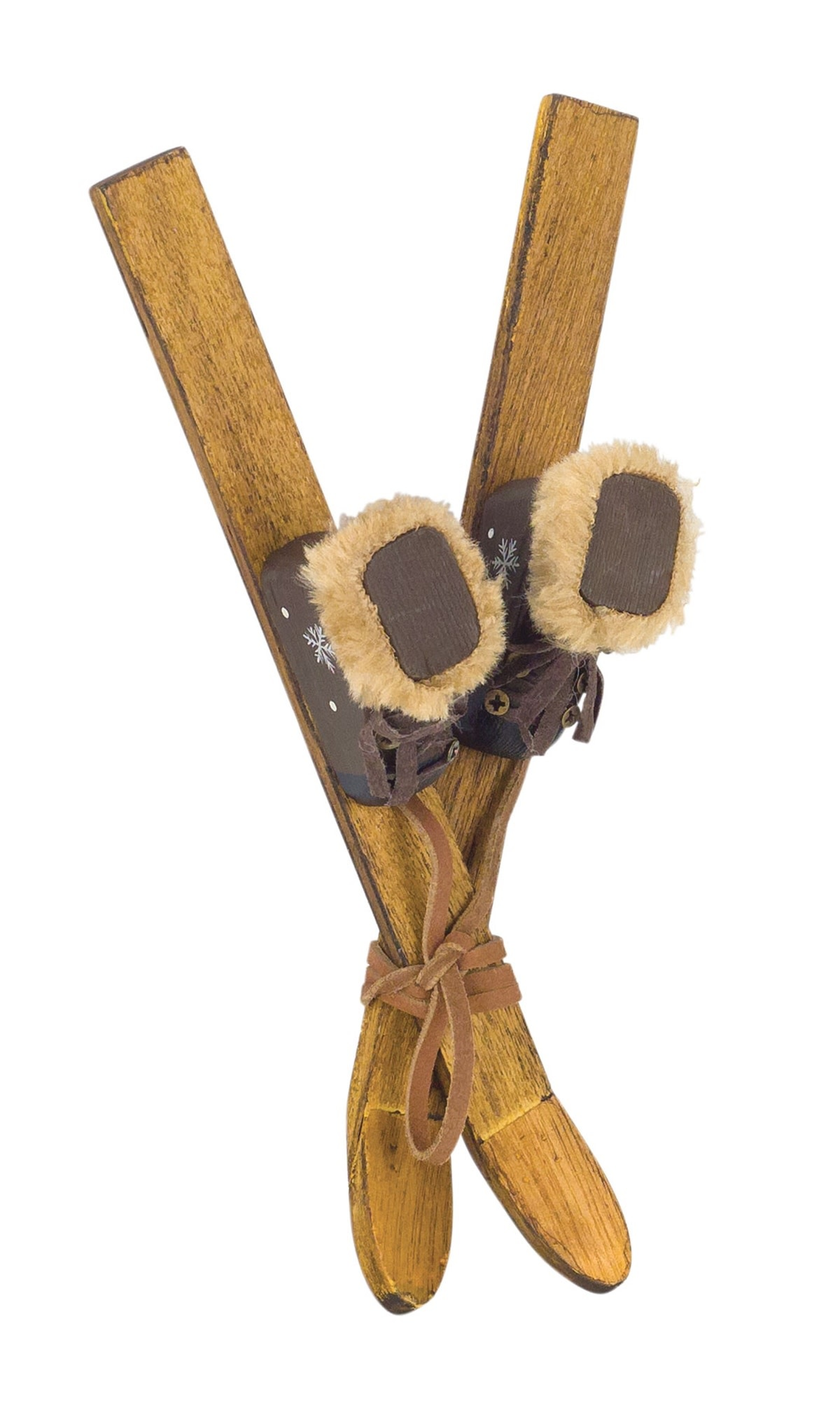 SKIS AND BOOTS ORNAMENT