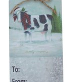 FARM ANIMAL TAG/ORNAMENT