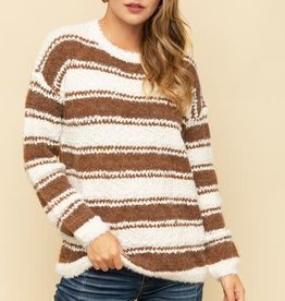 double stripe sweater
