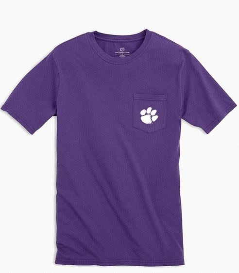 SOUTHERN TIDE SS COLLEGE CROSS T-SHIRT