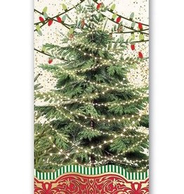 MICHEL DESIGN WORKS O TANNENBAUM HOSTESS NAPKIN