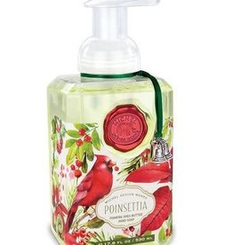 MICHEL DESIGN WORKS Poinsettia FOAMING SOAP