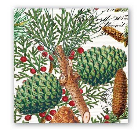 MICHEL DESIGN WORKS spruce Cocktail napkin