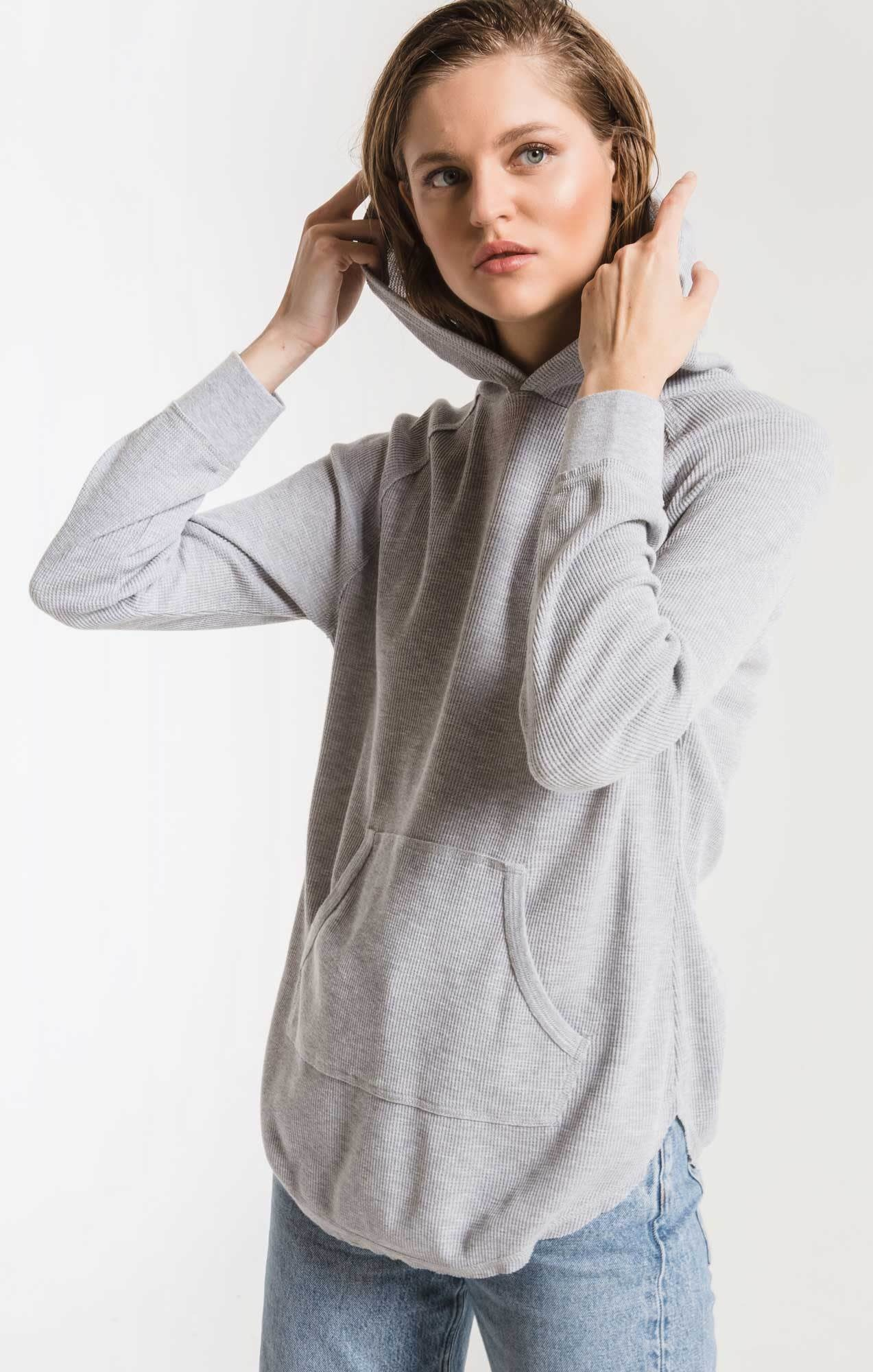 Z SUPPLY the thermal hooded tunic