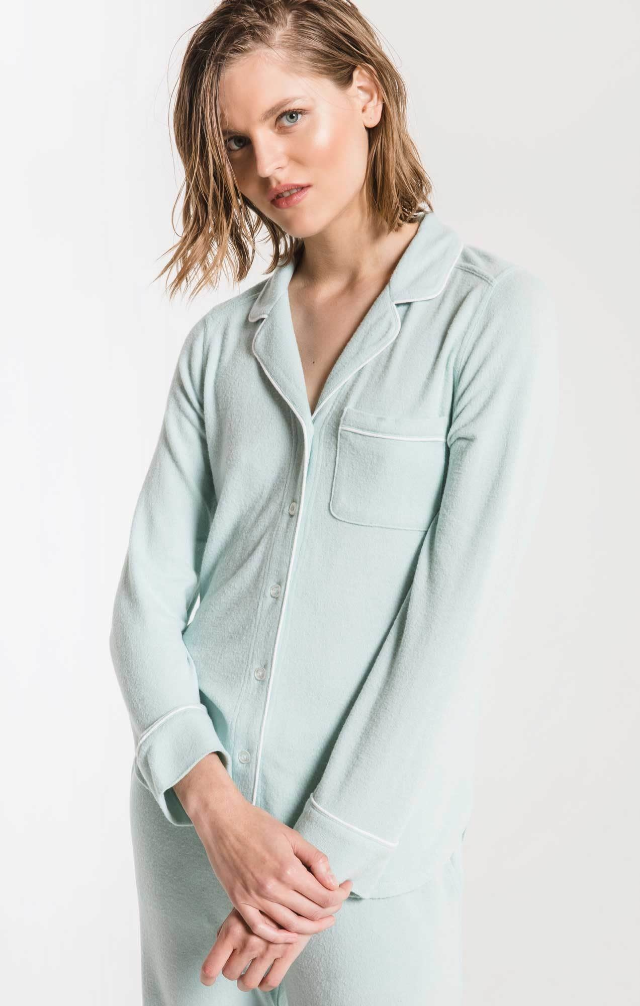 Z SUPPLY the luxe menswear pajama shirt
