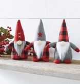 MUD PIE small checked gnomes