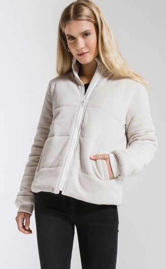 Z SUPPLY THE CORDUROY PUFFER JACKET