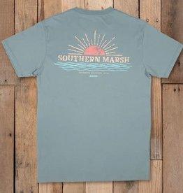 SOUTHERN MARSH Branding tee-sunset