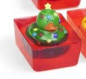 CHRISTMAS LIGHTS TOY DUCK SOAP