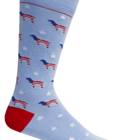 BROWN DOG HOSIERY RED WHITE BEAU