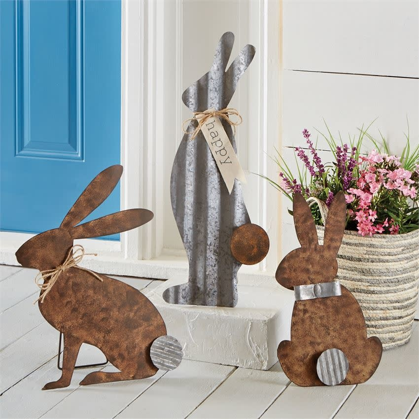 MUD PIE standing bunny decor