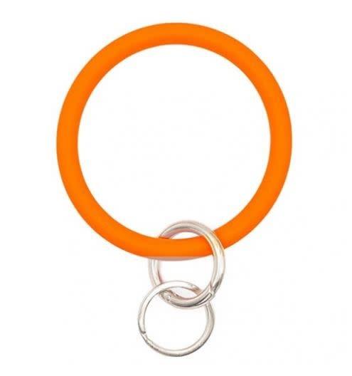 SILICONE KEYCHAIN BRACELET RING