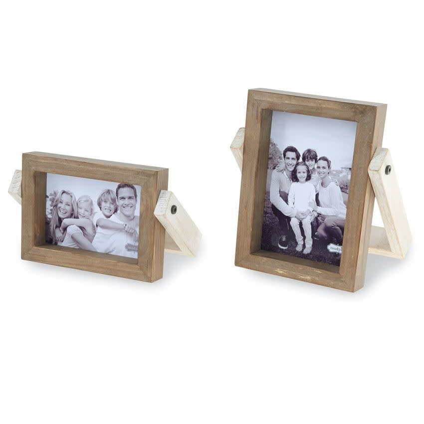 MUD PIE COLLAPSIBLE WOOD FRAMES