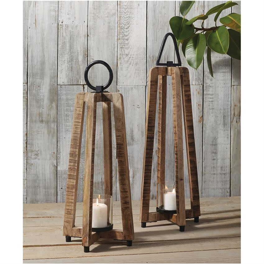 MUD PIE OPEN-AIR WOODEN LANTERNS