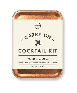 W&P Carry-0n Cocktail Kit- MOSCOW MULE