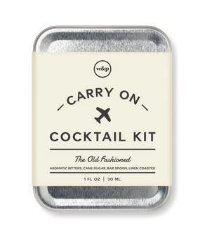 W&P Carry-0n Cocktail Kit- OLD FASHIONED
