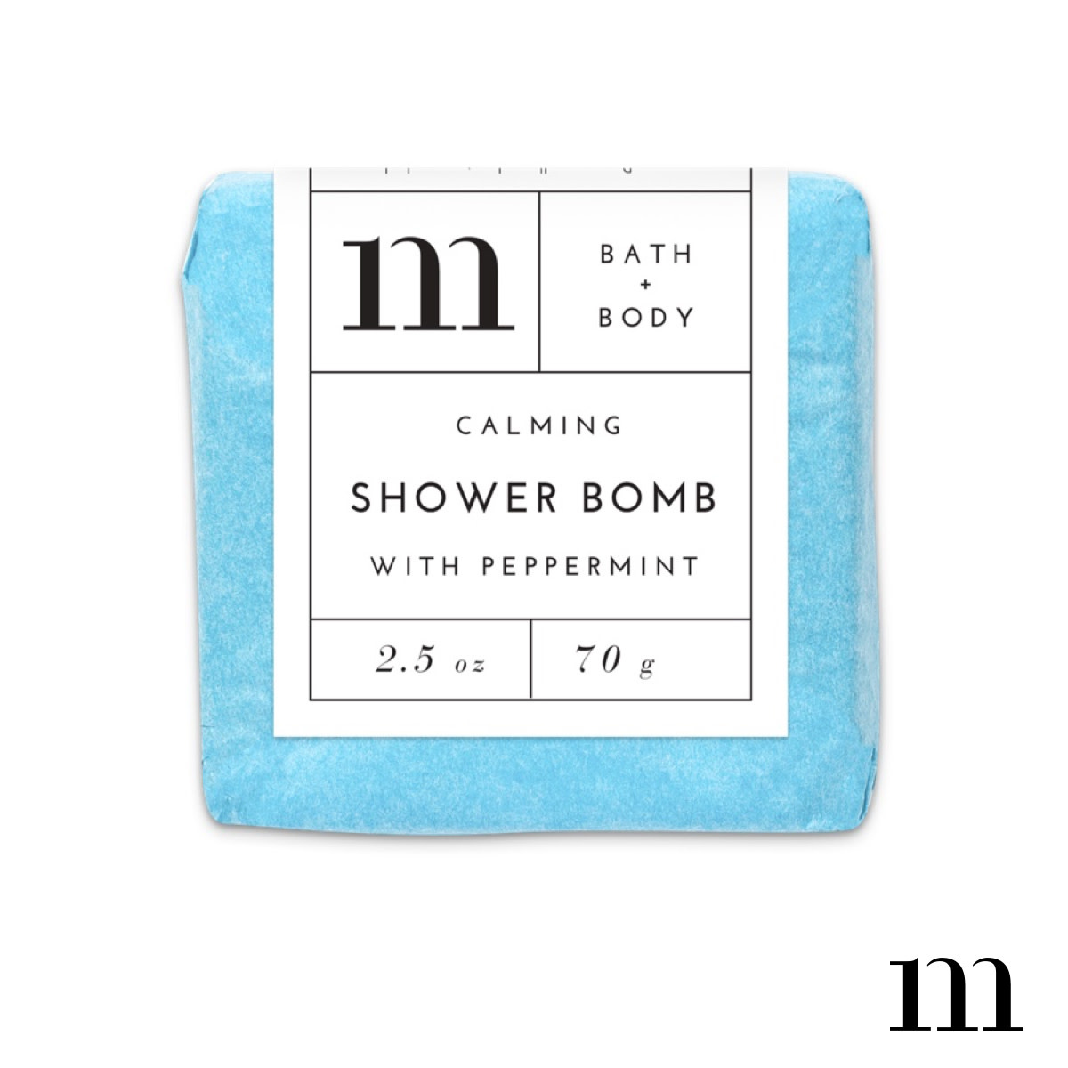 MIXTURE AROMATHERAPY SHOWER BOMB-CALMING WITH PEPPERMINT