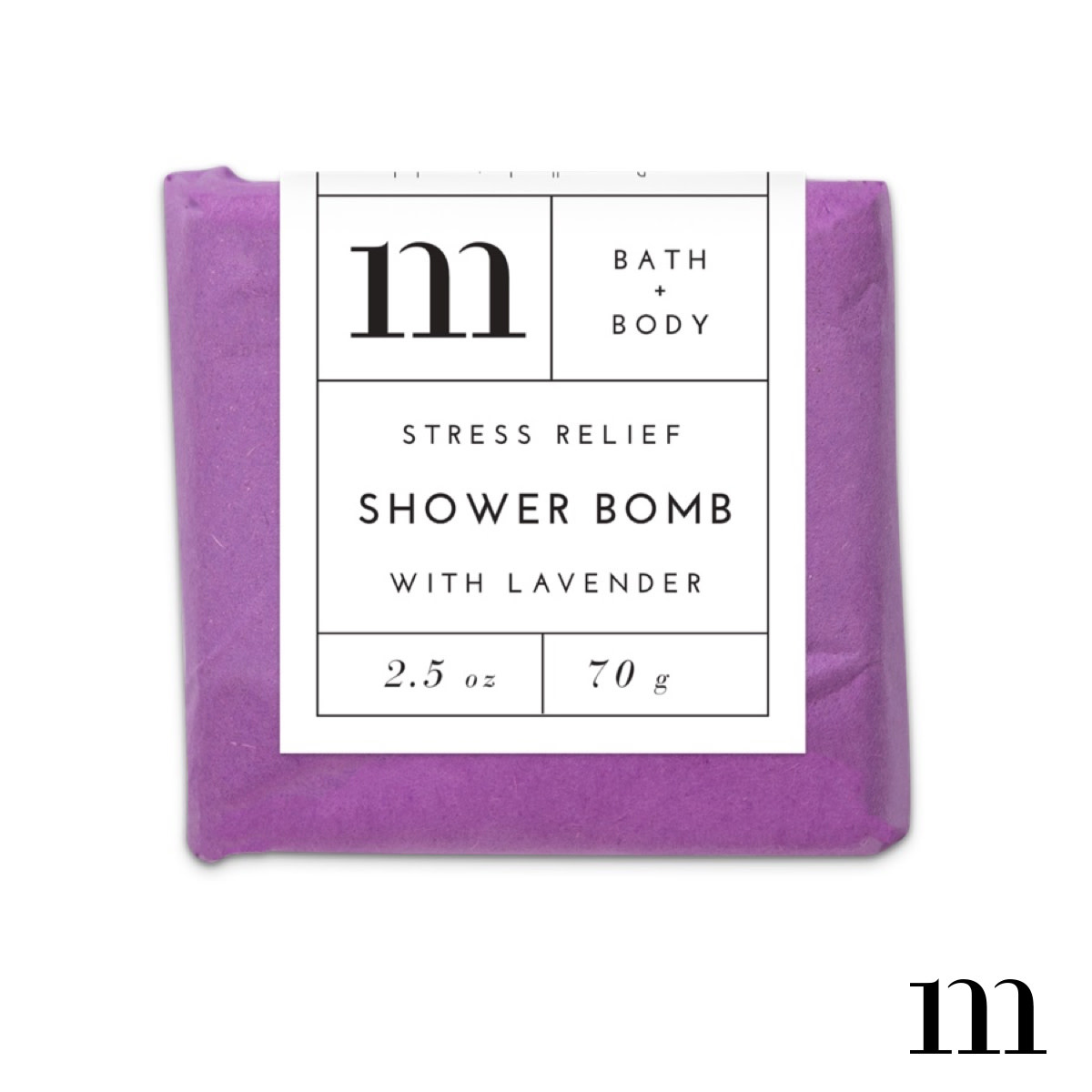 MIXTURE AROMATHERAPY SHOWER BOMB-STRESS RELIEF WITH LAVENDER