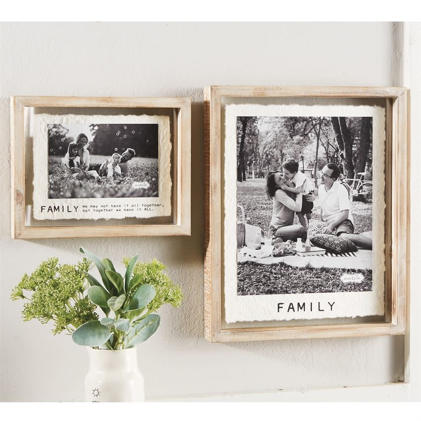 MUD PIE LARGE FAMILY GLASS FRAME