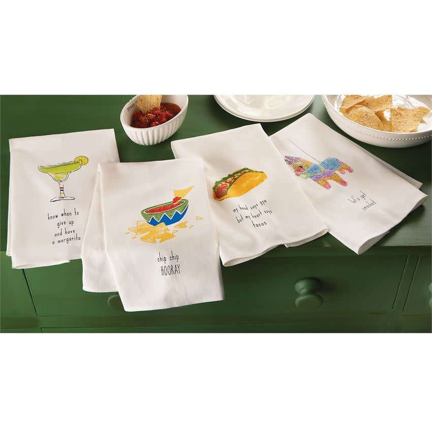 MUD PIE FIESTA DISH TOWELS