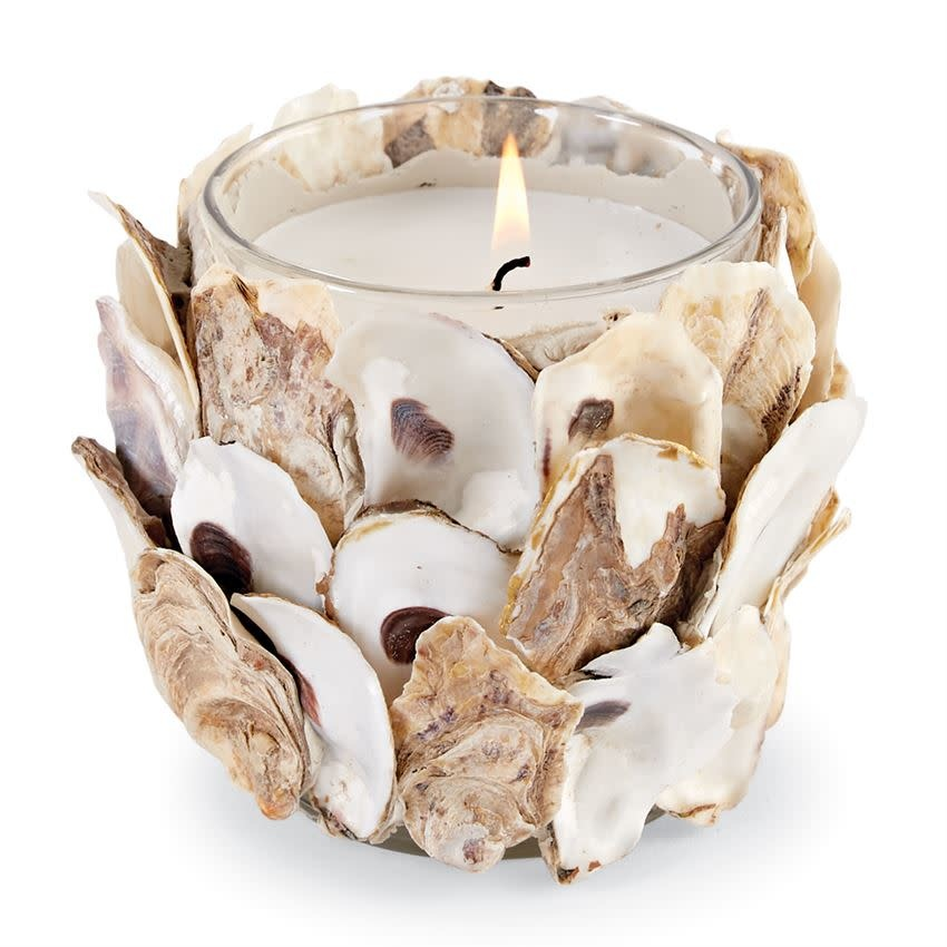 MUD PIE OYSTER SHELL CANDLE