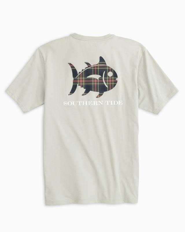 SOUTHERN TIDE TIDINGS PLAID SKIPJACK TEE