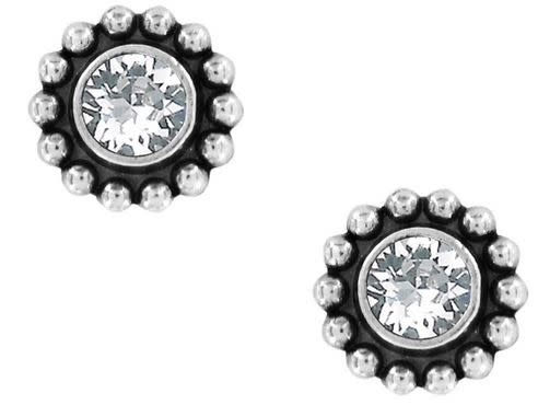 BRIGHTON TWINKLE MINI POST EARRINGS- SILVER