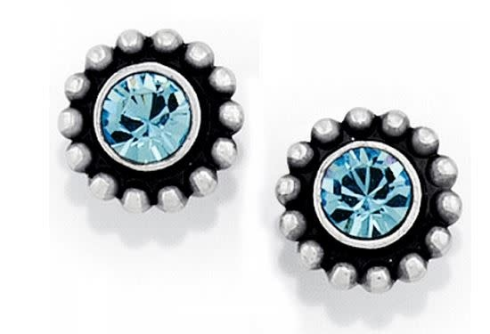 BRIGHTON TWINKLE MINI POST EARRINGS-BLUE