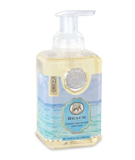 MICHEL DESIGN WORKS BEACH FOAMING SOAP