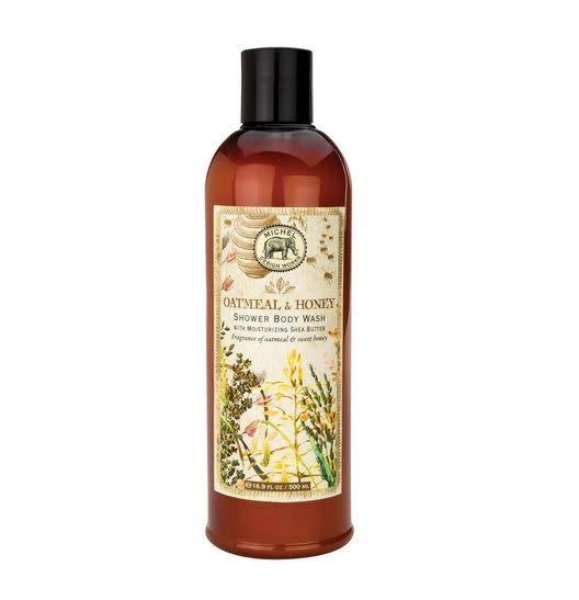 MICHEL DESIGN WORKS Oatmeal & honey shower body wash
