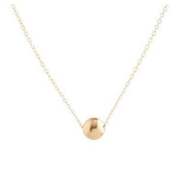 "ENEWTON 16"" necklace gold- honesty small gold"