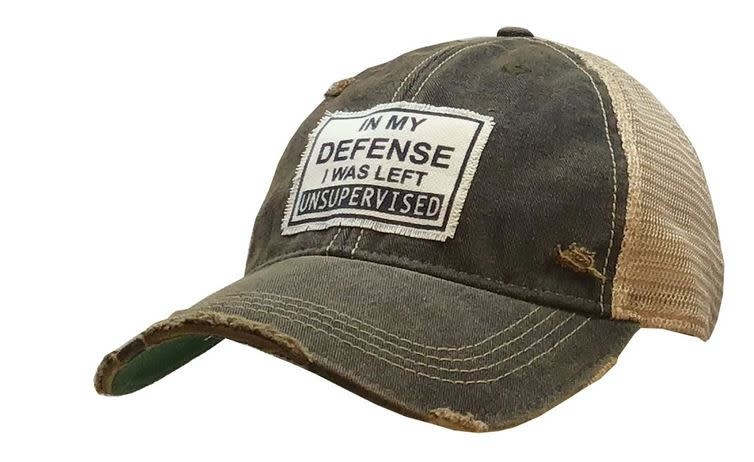 IN MY DEFENSE HAT