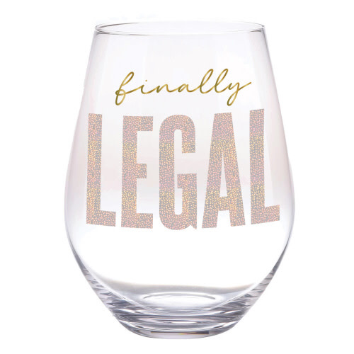 slant collections finally legal 30 oz wine glass
