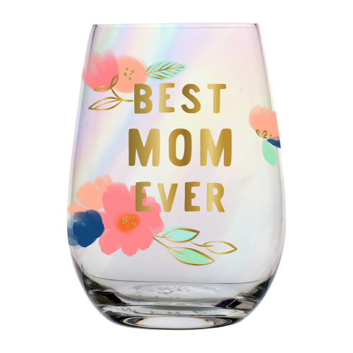 slant collections best mom ever 20 oz wine glass