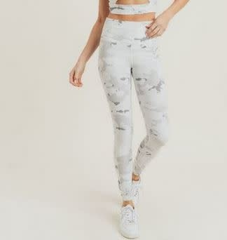 MONO B SNOW CAMO HIGH-WAISTED LEGGINGS