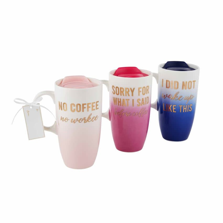 MUD PIE OMBRE TRAVEL MUGS