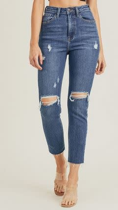 RISEN JEANS MADISON MOM JEANS