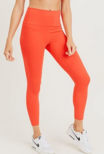 MONO B REENA LASER CUT HIGHWAIST LEGGINGS