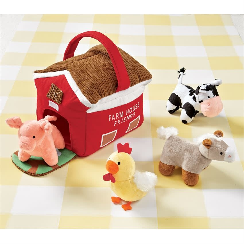 MUD PIE FARMHOUSE PLUSH SET
